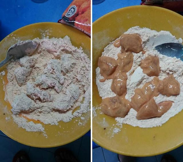 Resepi Ayam Goreng Ala McD Menggunakan 6 Bahan Sahaja