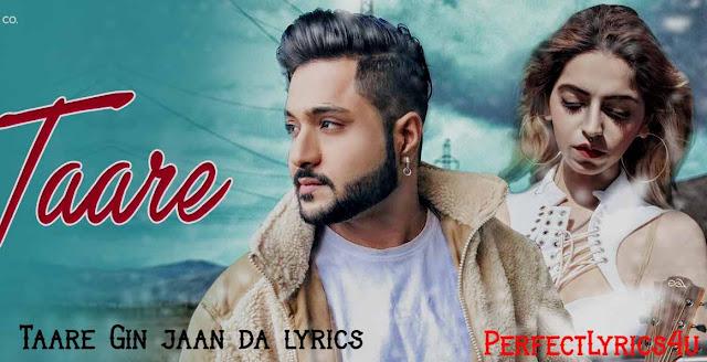 Taare Gin jaan da lyrics - Raman Kapoor