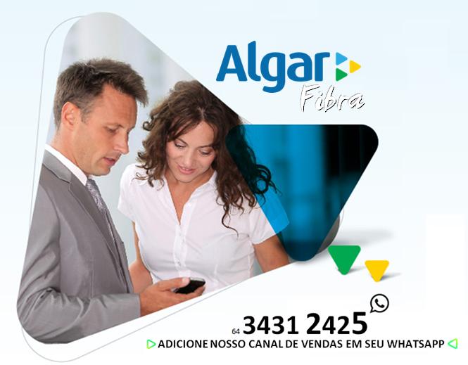 Algar Fibra óptica em Itumbiara.