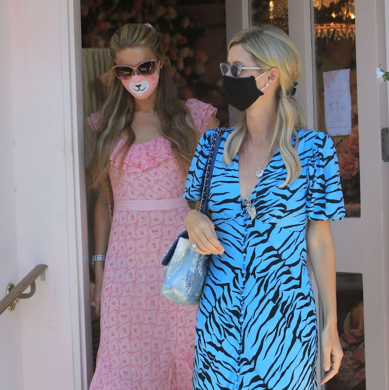 Nicky Hilton, Paris Hilton Out in Los Angeles 27 Jul -2020