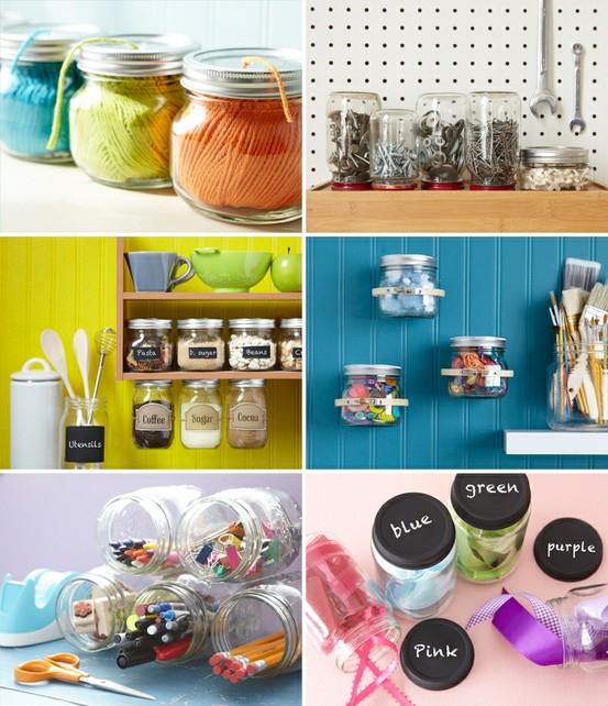 All The Joy: Tuesday Ten- Craft Organization Ideas!