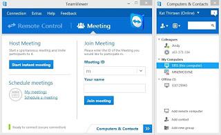 برنامج, تيم, فيور, TeamViewer, لفتح, الكمبيوتر, من, اى, مكان, باخر, اصدار