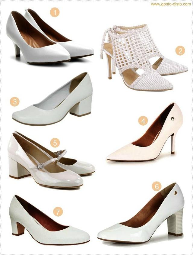 Tendência Sapato Branco - prepare seus pezinhos