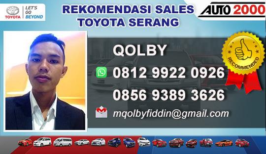 Dealer Toyota AUTO2000 Serang