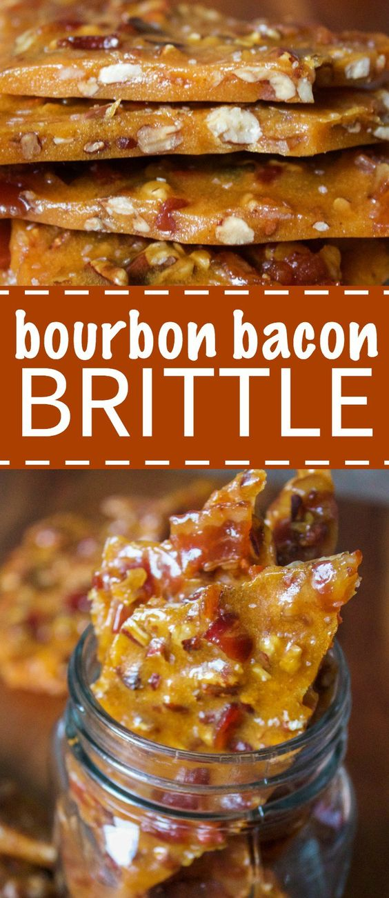 BOURBON BACON BRITTLE #bacon