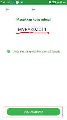 Kode Referral Mobayar