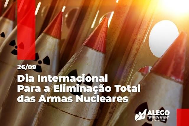 Dia Internacional para Eliminação das Armas Nucleares alerta para o desarmamento nuclear