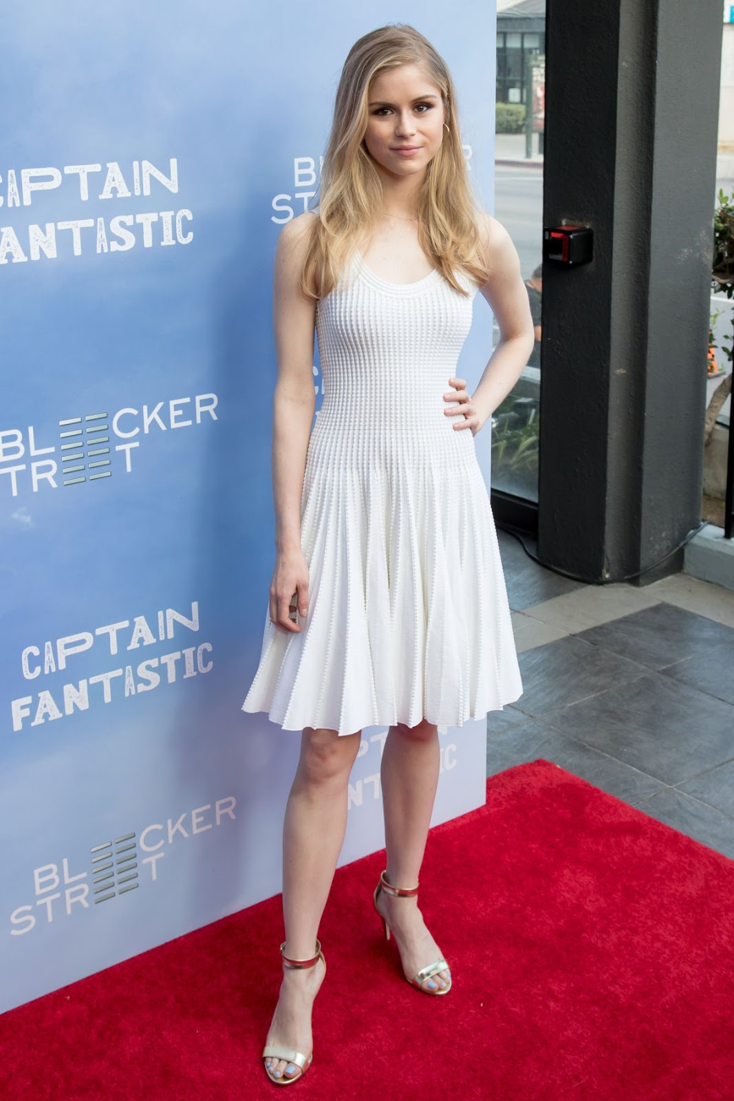 Erin Moriarty at Captain Fantastic Los Angeles Premiere