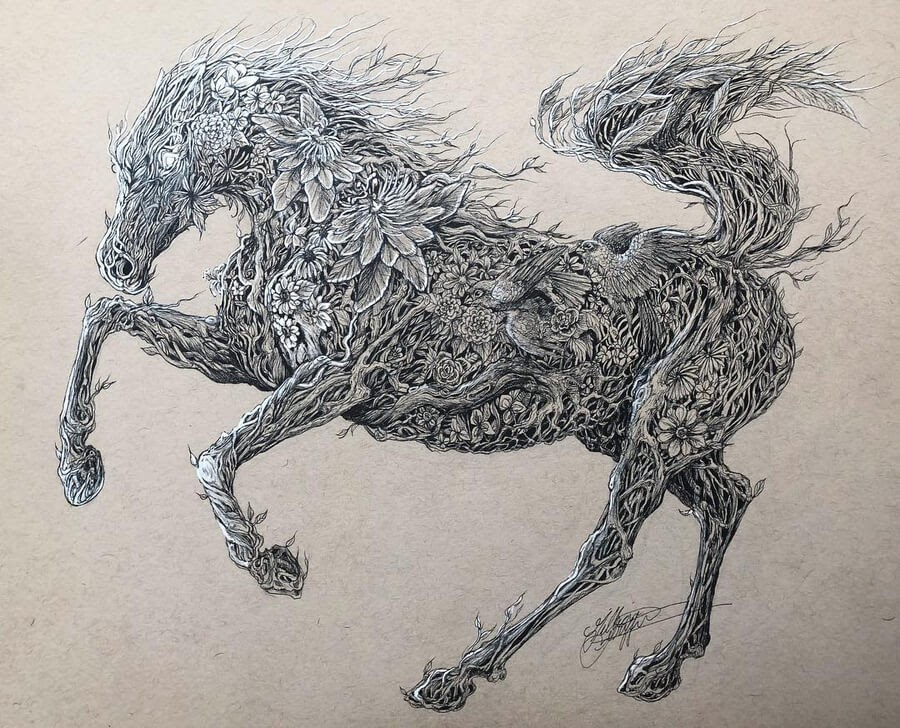 05-Nature-Stallion-Gillian-Griffiths-www-designstack-co