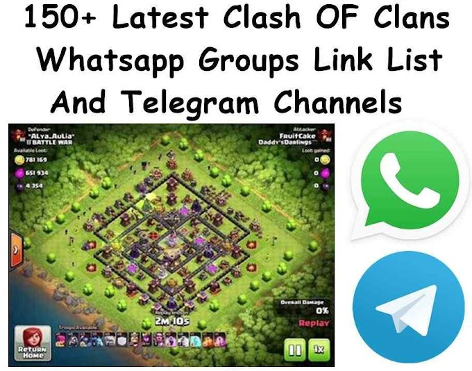 Latest Clash OF Clans Whatsapp Groups Link List