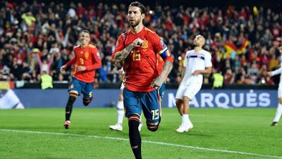 مباراة إسبانيا والنرويج بدون تقطيع