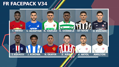 PES 2017 Facepack v34 by FR Facemaker