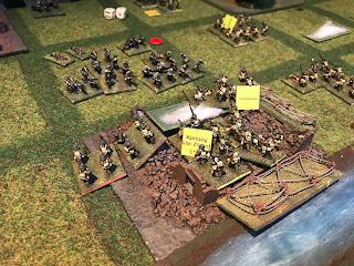 German reinforcements prepare to attack at Ors