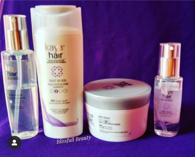 Gorgeous hair with Kaya's root regen-Kaya Root Regen System Review