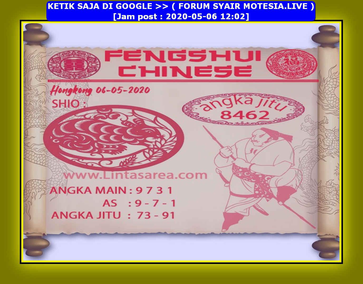 Kode syair Hongkong Rabu 6 Mei 2020 110