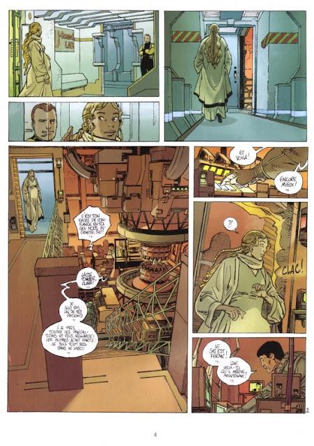 """page de """"L'histoire de Siloe"""" par Le Tendre et Servain chez Delcourt"""