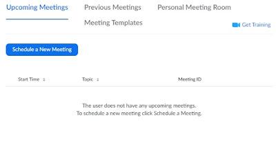 Cara menggunakan zoom meeting online