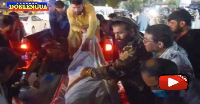 Ya van 40 muertos en el aeropuerto de Kabul por la mala política de Joe Biden