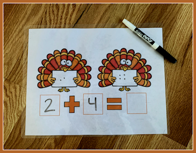 subtraction mat