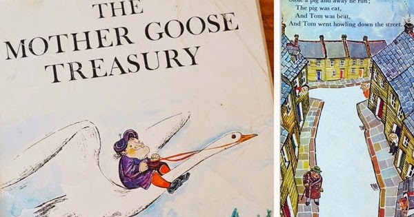 The Bowerbird: The Mother Goose Treasury - by Raymond Briggs