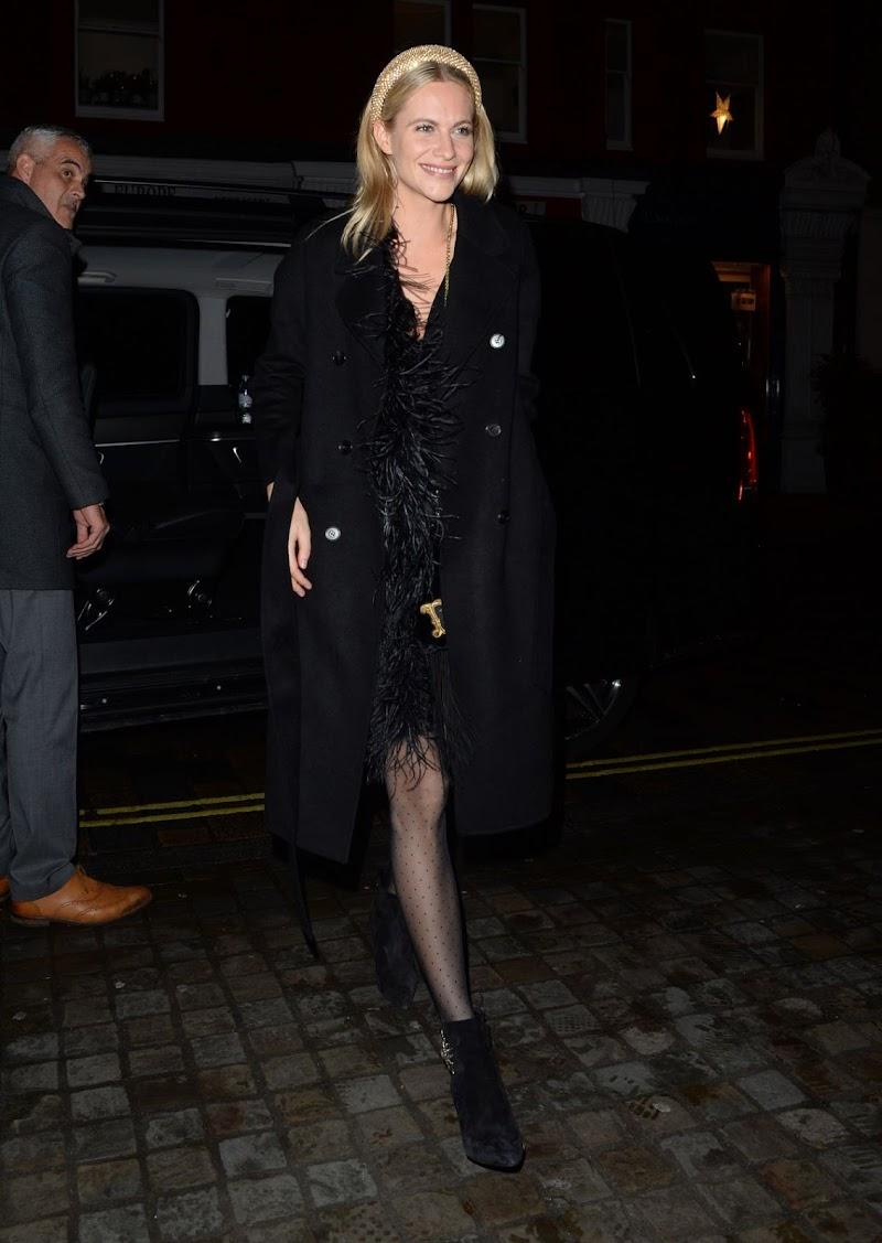 Poppy Delevingne Clicks at Scott's Restaurant in London 20 Dec-2019