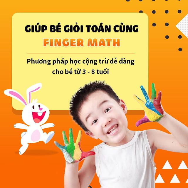 Chương trình toán Finger math tại Super Math