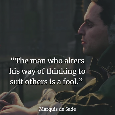 Best Marquis de Sade inspiring image Quotes and Sayings