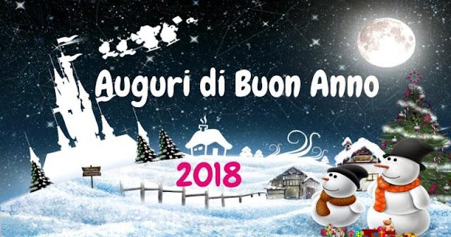 Auguri di Buon Anno 2018 Felice Anno Nuovo