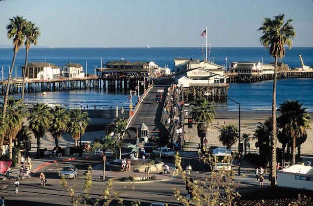 Ponto turístico Stearns Wharf em Santa Bárbara