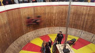 Inside the wall of death at Bristol Volksfest
