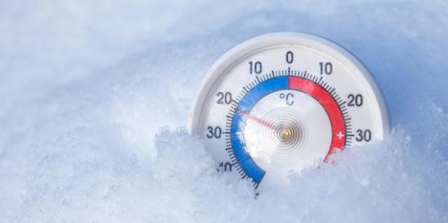 earth froze