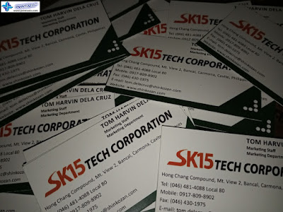 Business Cards Philippines - SK15 Tech Corporation