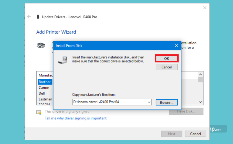tutorialengkap cara install driver printer pada windows 10