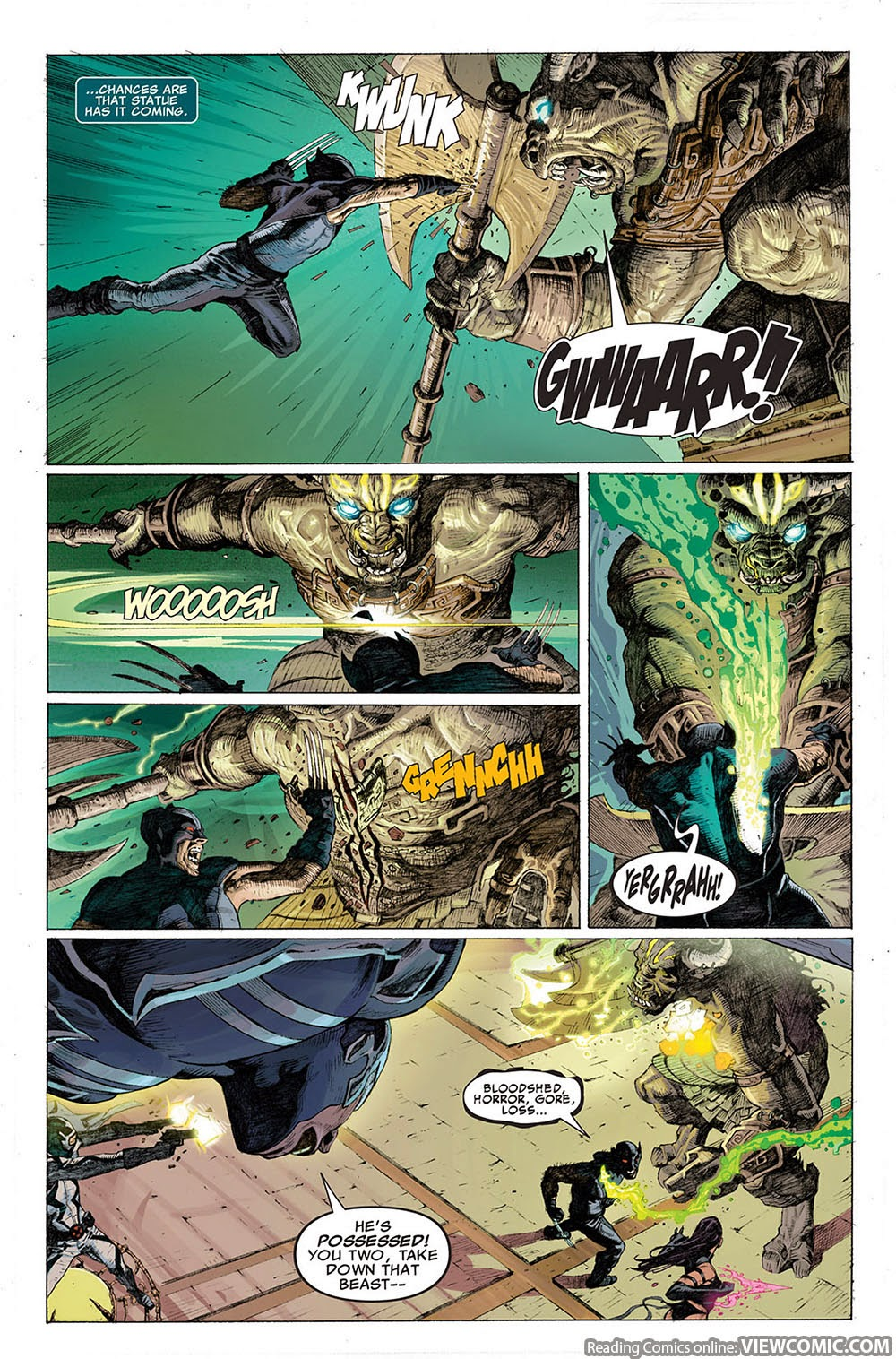 Uncanny X-Force v1 001 ……………………… | Reading Comics Online For