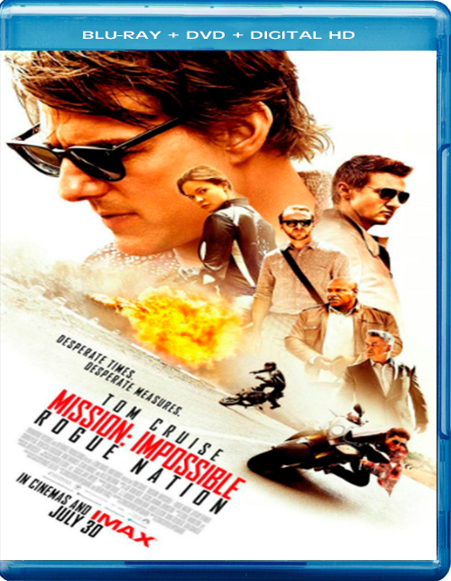 Mission: Impossible – Rogue Nation [2015] [DVDR – BD] [NTSC] [Remasterizado] [Latino]