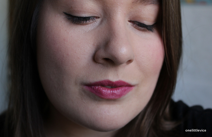 One Little Vice Beauty Blog: mac plum sheer lipstick