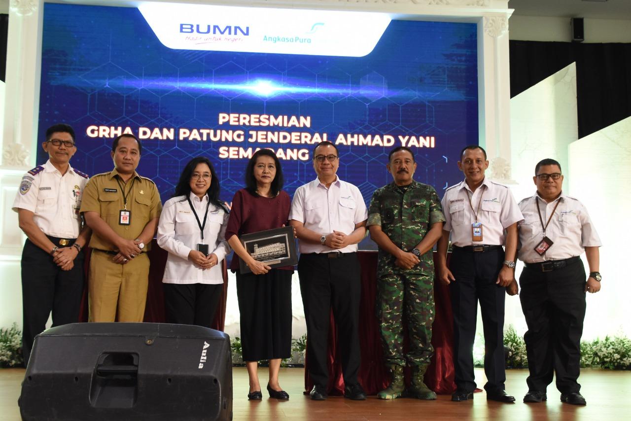 Pangdam IV : Peresmian Fasilitas Bandara A. Yani Tingkatkan Kualitas dan Kenyamanan