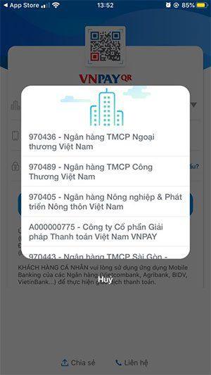 Cách thức đăng ký tài khoản VNPay 3