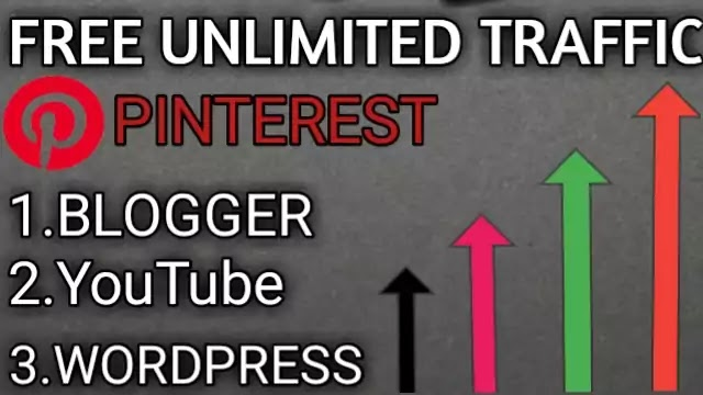 Free unlimited traffic from Blogger website,YouTube,WordPress,in hindi