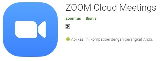 Cara instal dan fitur aplikasi zoom meeting