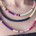 How to Make a Multi-Colored Wrapped Tribal Necklace and Bracelet