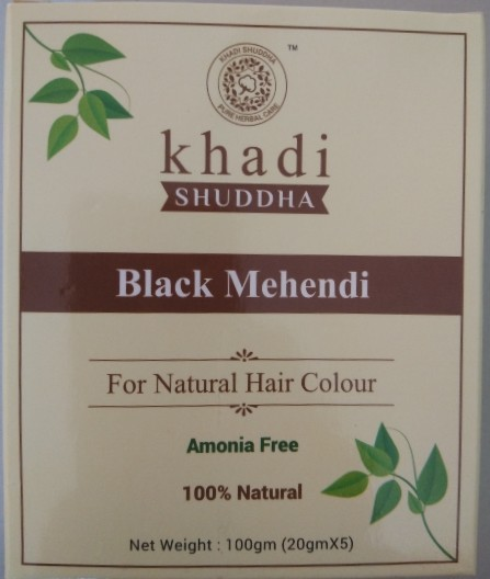 Khadi Shuddha black mehendi review