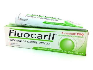 Muestras gratuitas fluocaril fluor