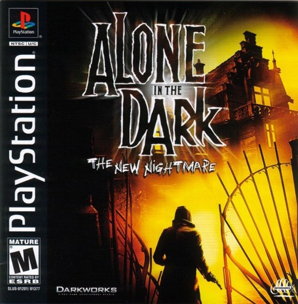Alone in the Dark: The New Nightmare - PSX - Portada