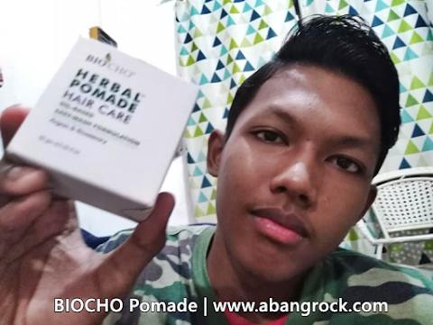 BIOCHO Pomade | Produk Gayaan Rambut Cara Semulajadi Untuk Lebih Handsome Dan Terurus
