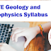 GATE Geology and Geophysics Syllabus 2020 - Check Details