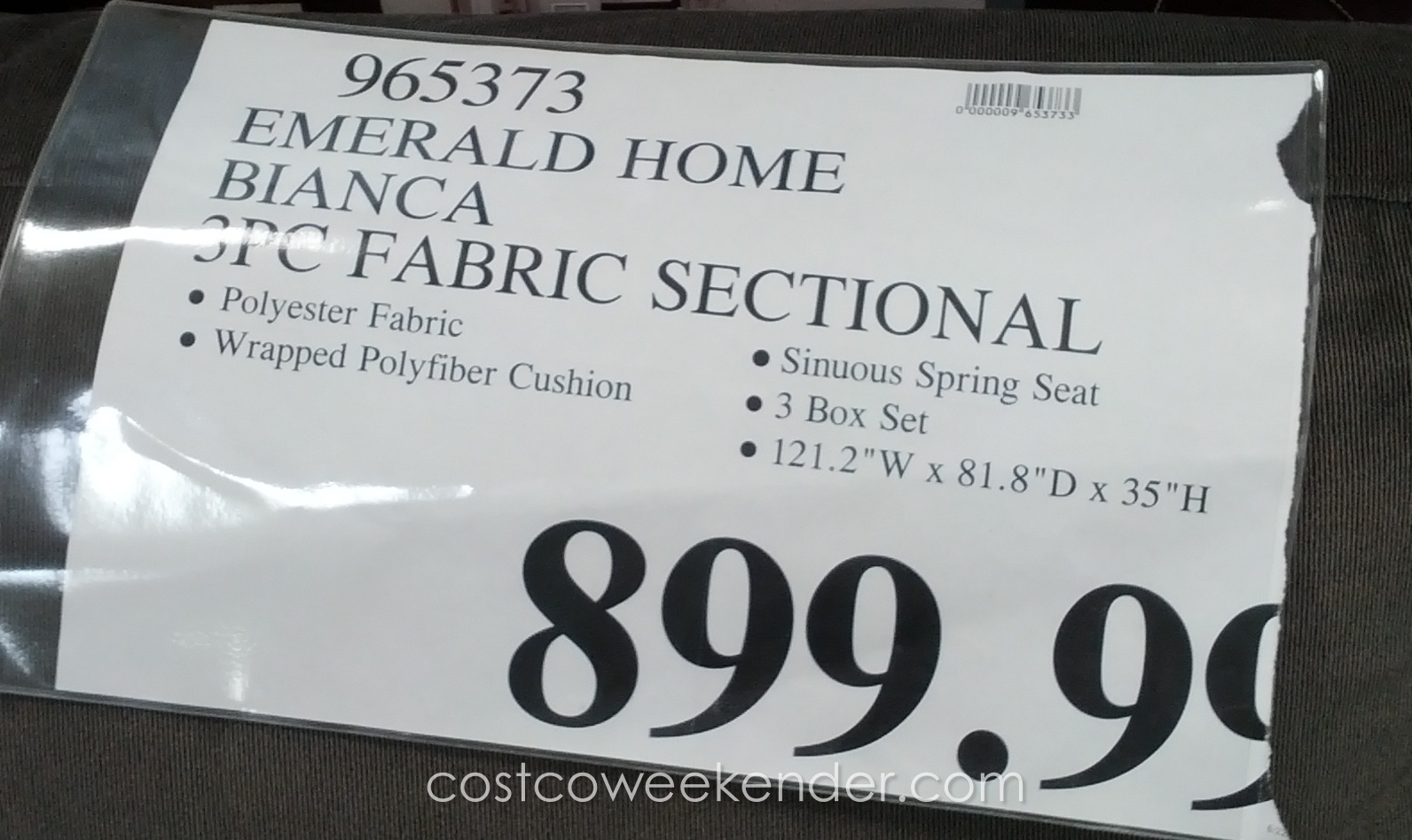 bianca sectional sofa costco beds sydney nsw emerald home furnishings 3 piece set