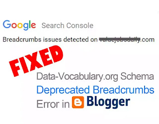 How to fix Data Vocabulary Schema Error 2021 - seekhlyonline.com