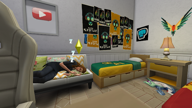 Sims 4 Discover University Dorm Life