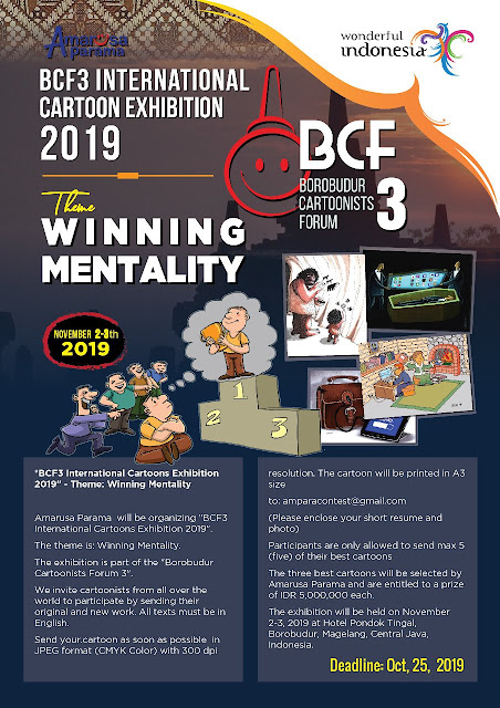 BCF3 International Cartoons Exhibition 2019